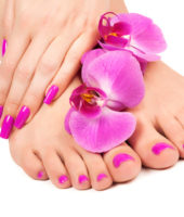 harem del benessere Foot-nails