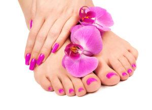 harem del benessere Foot-nails